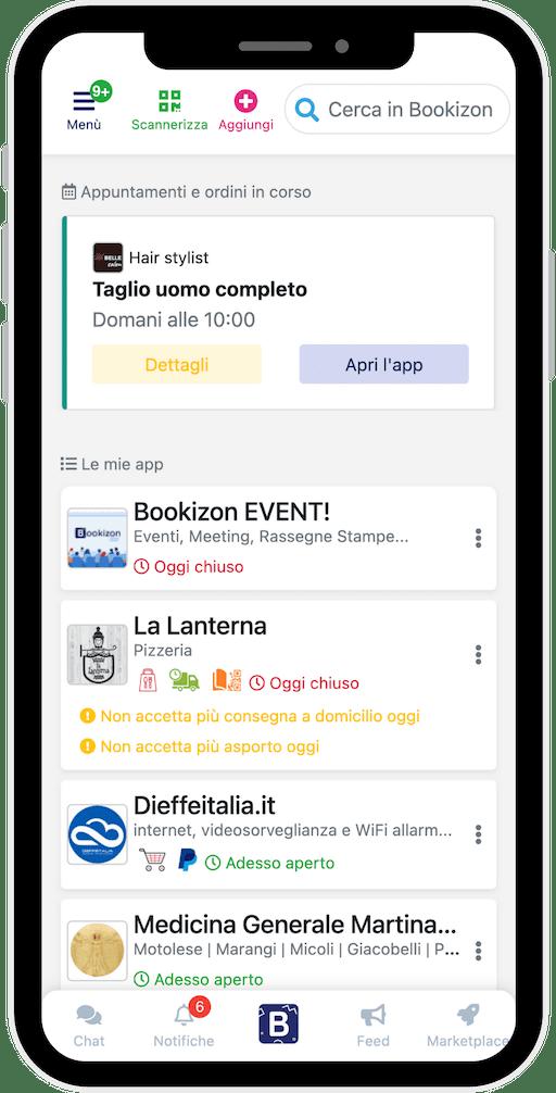 Bookizon app
